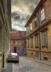 street in Zagreb, Croatia
