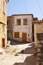 Gebäude auf Samos