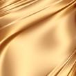 Smooth golden satin