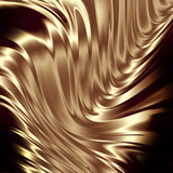 Fototapety Abstract golden composition