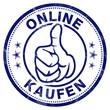 online kaufen stempel daumen hoch oben button