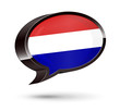 """Dutch-Speaking"" 3D Speech Bubble"