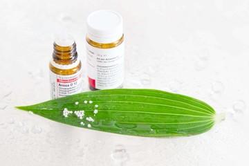 Homöopathie - Streukügelchen mit natürlicher Wirkung