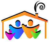 Family house logo