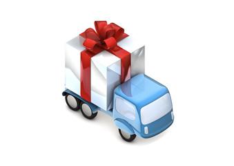 camion cadeaux