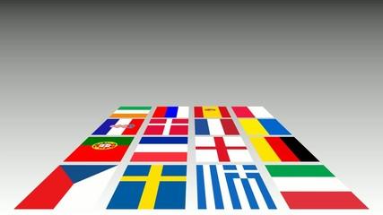 Fußball EM 2012 Teilnehmerländer