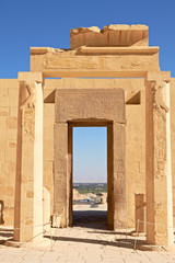 View through Gates in Hatshepsut Temple