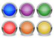 Set pulsanti vuoti 6 colori diversi