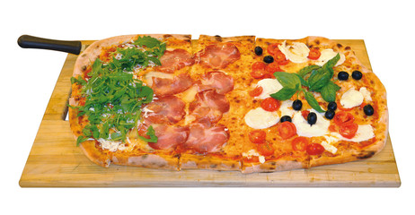 pizza italiana mezzo metro
