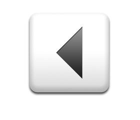 Boton cuadrado blanco multimedia flecha retroceder
