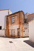 Straßenszene auf Samos
