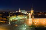 Warsaw old town at night - 36943144
