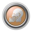 "Bronze 3D Style Button ""Dermatology"""