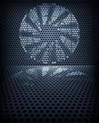 Fan turbine background