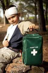 First Aid in the Forest