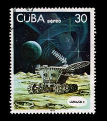 CUBA, shows Lunajod II,  circa 1978