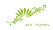 water lily plant , Eco friendly logo design