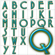 abc alphabet background babes font design