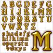 abc alphabet background font belshaw design