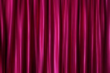 Purple silky satin curtains