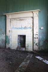 Building, Croft House, Abandoned, Interior,