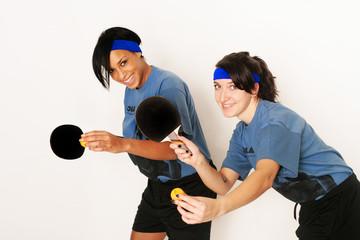 Frauen beim Tischtennis