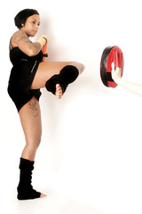Kick-Boxerin