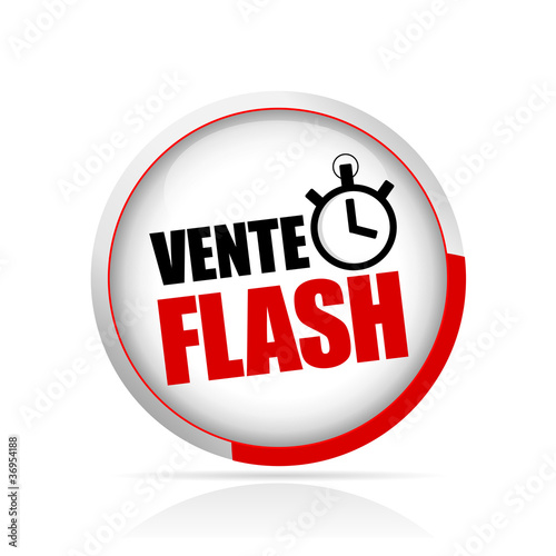 Bouton vente flash fichier vectoriel libre de droits sur la banqu - Vente flash televiseur ...