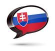 """""""Slovak-Speaking"""" 3D Speech Bubble"""