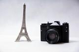 Fototapeta Eiffel Tower - Zenit © Patryk Kosiński