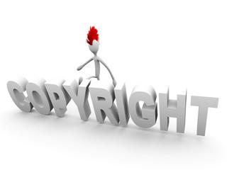 Copyright Verletzung
