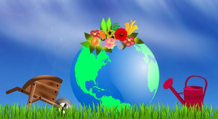 The earth garden