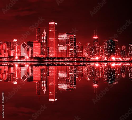 Downtown Chicago na dzień