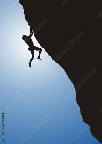 freeclimbing, climbing