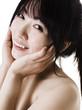 Portrait of a beautiful Chinese woman.