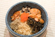 Japanese stone bowl mixed rice dish