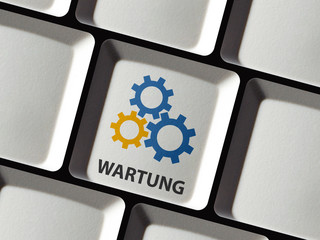 Wartung der Website