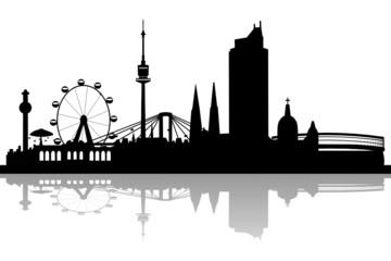 Wien Skyline Altstadt