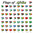 Flags of Afrika