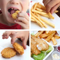 Fast Food & Enfance