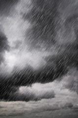 black cloud rain