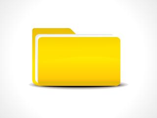 abstract folder icon