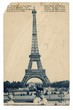 obraz - Eiffel Tower - vin...