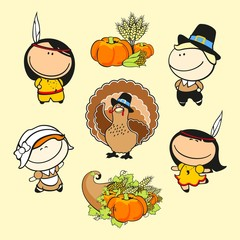 Funny kids #59 - thanksgiving day