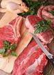 raw meats
