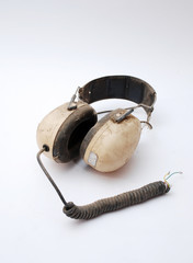 old headphones