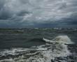 Fototapeta Niebo - Burzliwy - Morze / Ocean