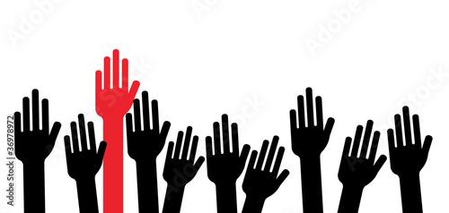 Mains en l'air - Différence - Racisme