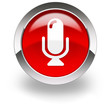 red microphone icon