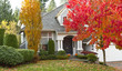 Residential Home during Fall Season - 36979996